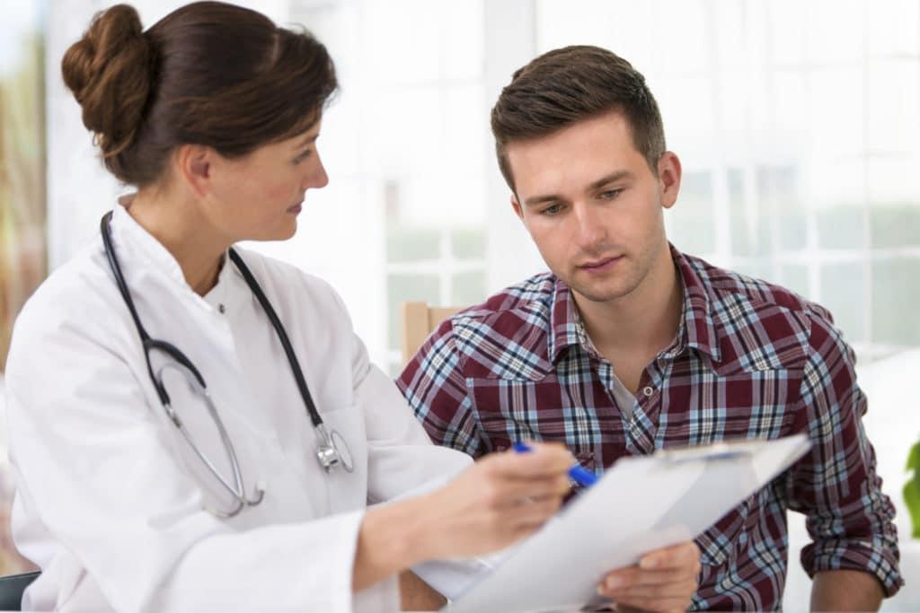 Диагностика рака простаты на 2 стадии