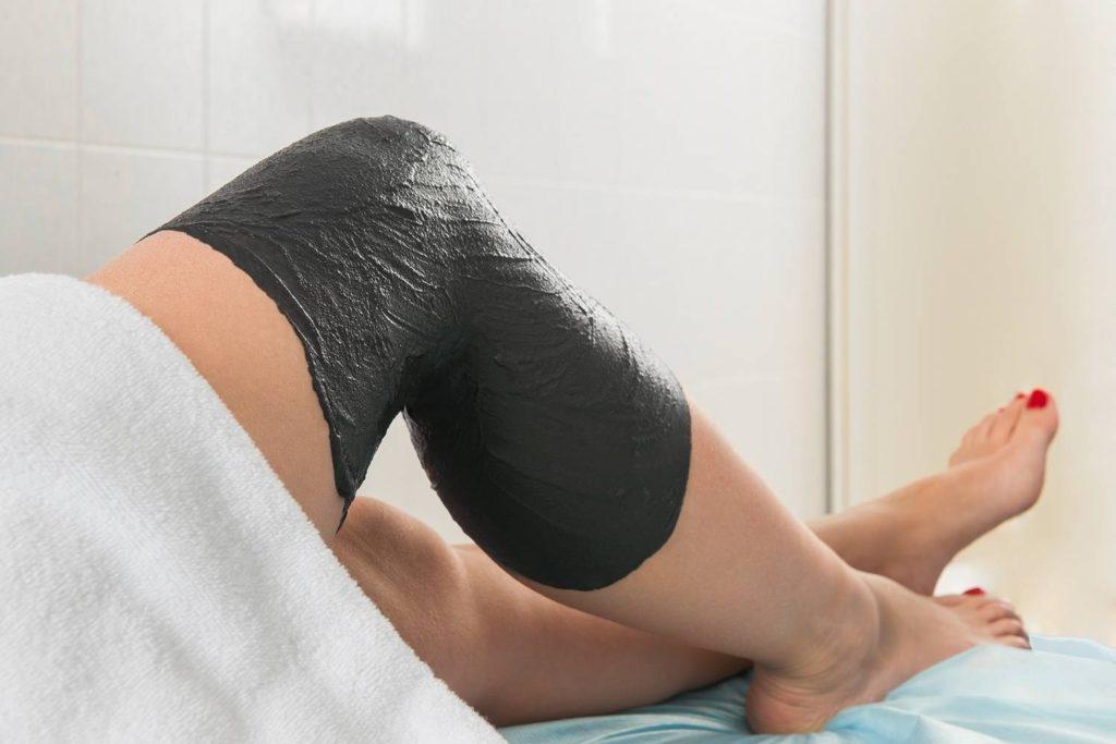 Грязевые аппликации колена