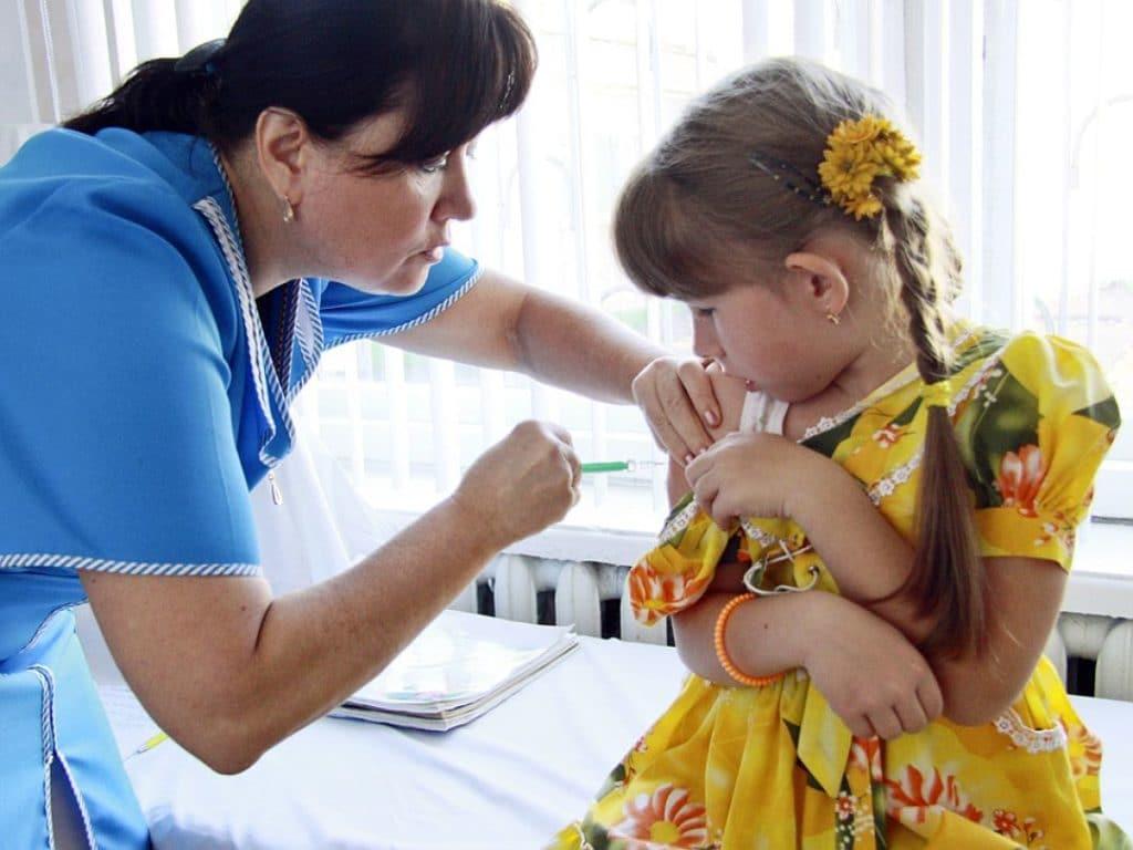 Прививка с 10 лет