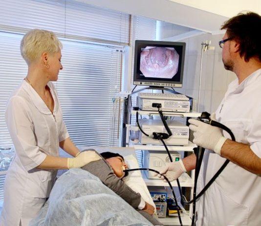 Эндосонография желудка
