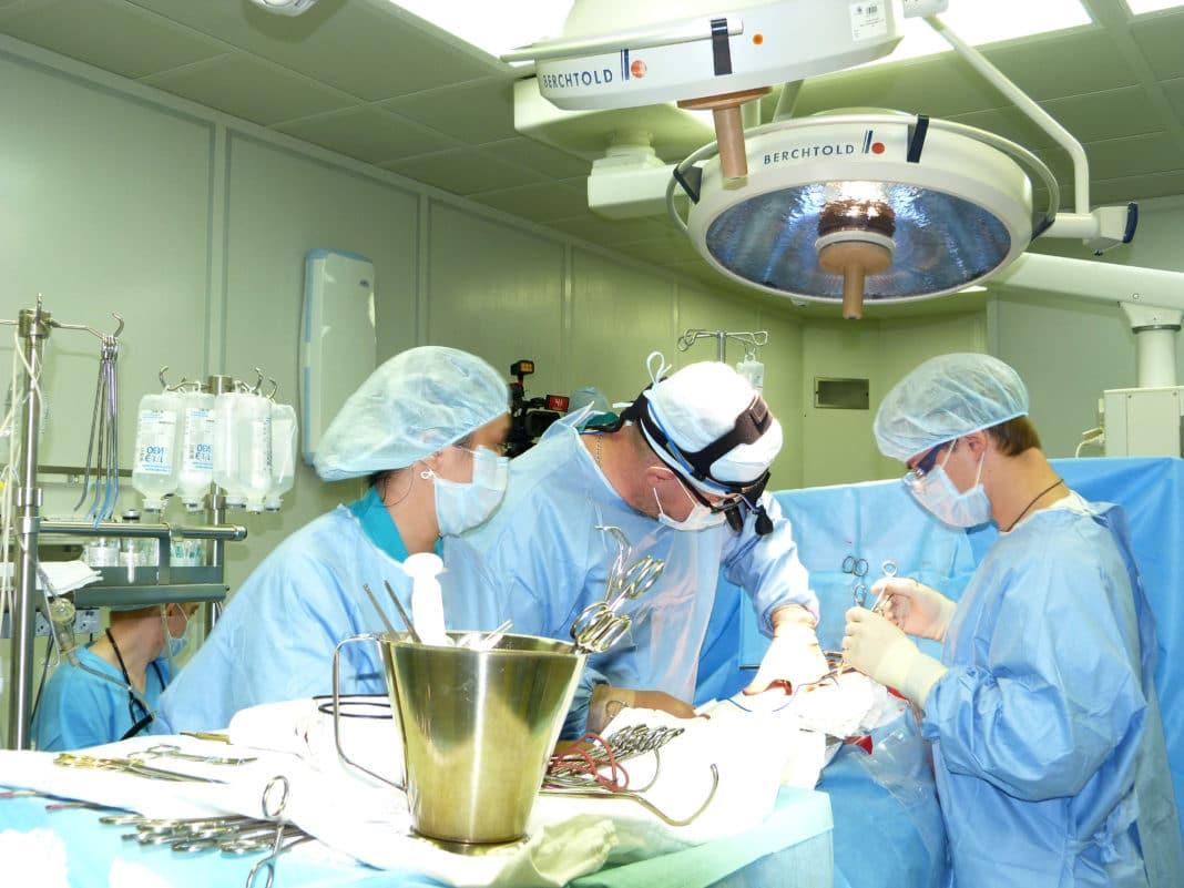 Рак яичников: операция