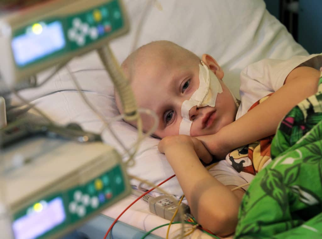 Фото ребенка с онкопатологией