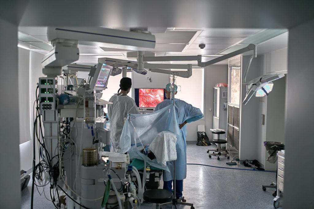 Фото урологической операции