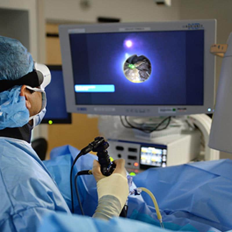 Лазерные методики воздействия на опухоль при онкоцитоме