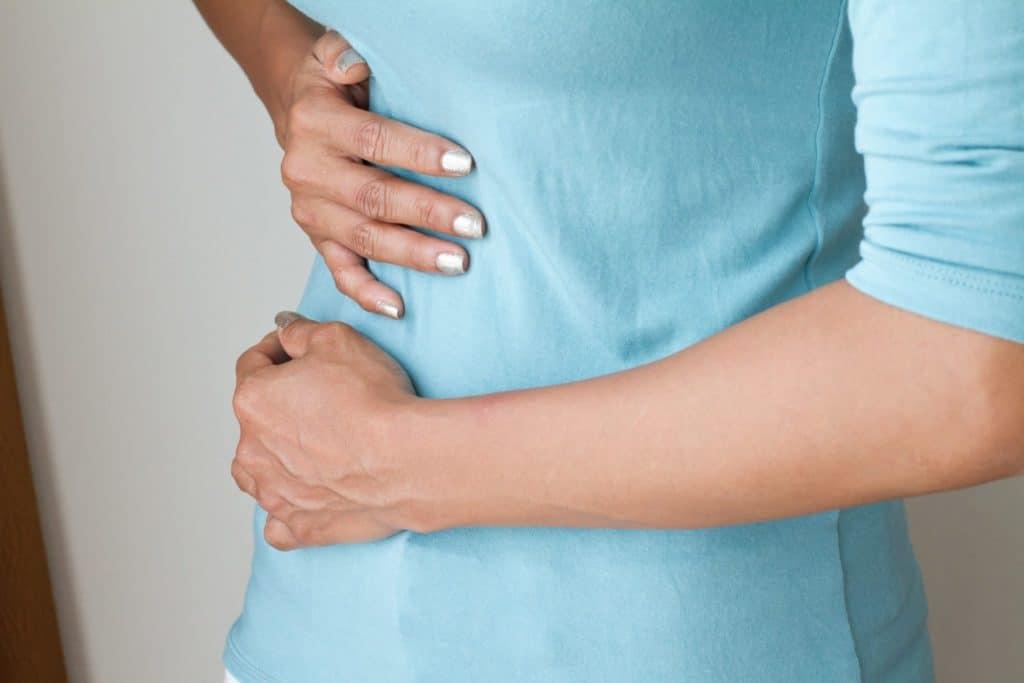 Локализация болевых ощущений при раке желчного пузыря