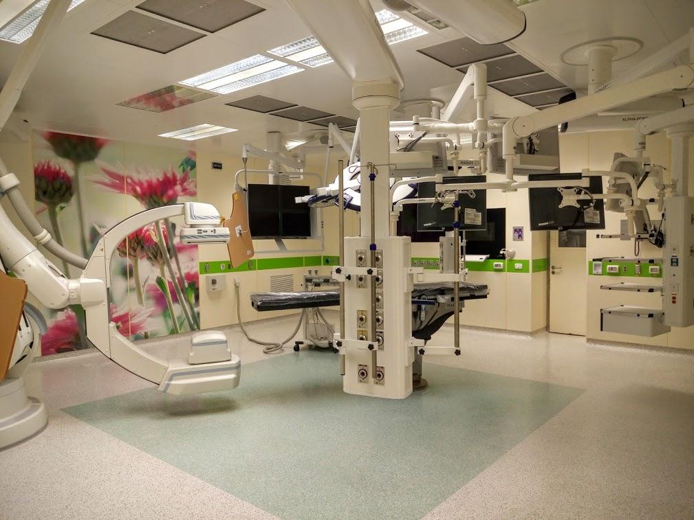 Операционная клиники Хадасса Израиль