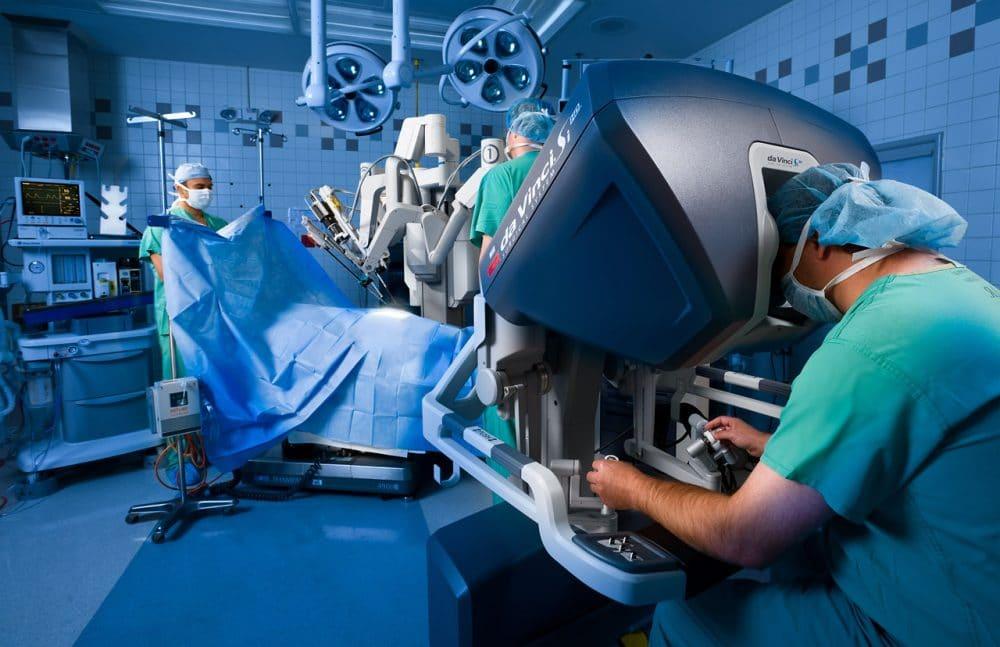 Панкреатэктомия робот-ассистирование