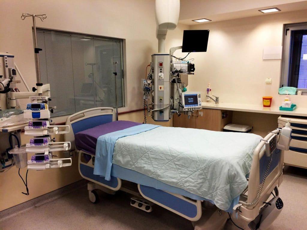 Фото палаты в клинике Ассута Израиль