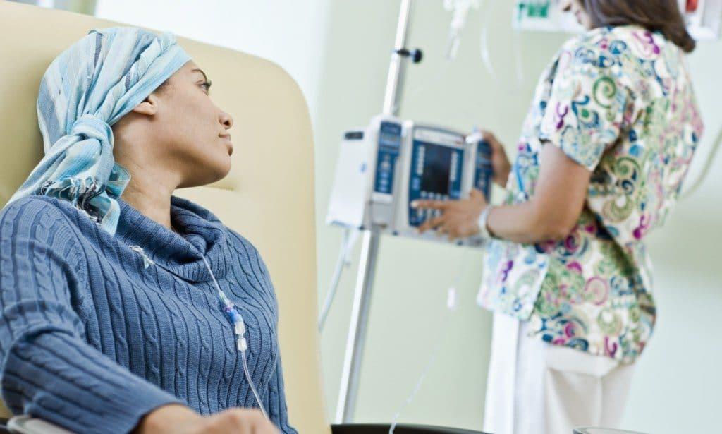 Фото процедуры химиотерапии
