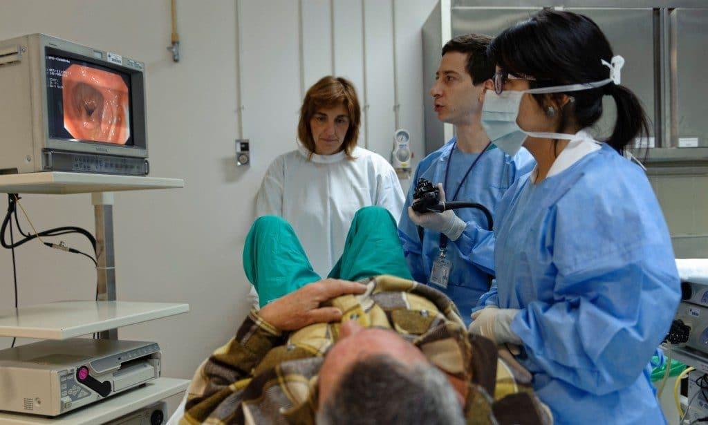 Фото процедуры колоноскопия