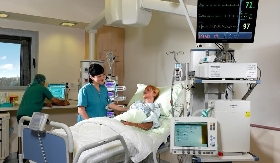 Платы интенсивной терапии в клиниках Израиля